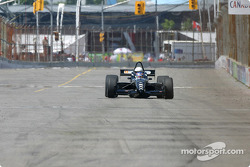 Champ Car 2-seater experience: Paul Tracy drives Molson Indy's Bob Singleton around the Exhibition Place track