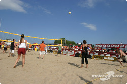 Beach Volley on Thurder Alley