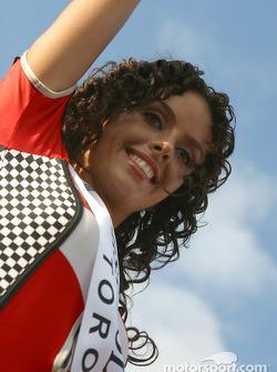 The Miss Molson Indy 2004 winner