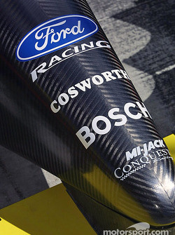 Nose cone of Mi-Jack Conquest Racing car