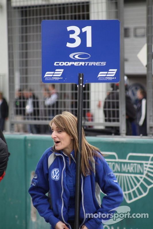Reluctant Grid Girl 1