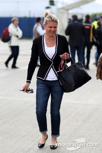 Corinna Schumacher, wife of Michael Schumacher