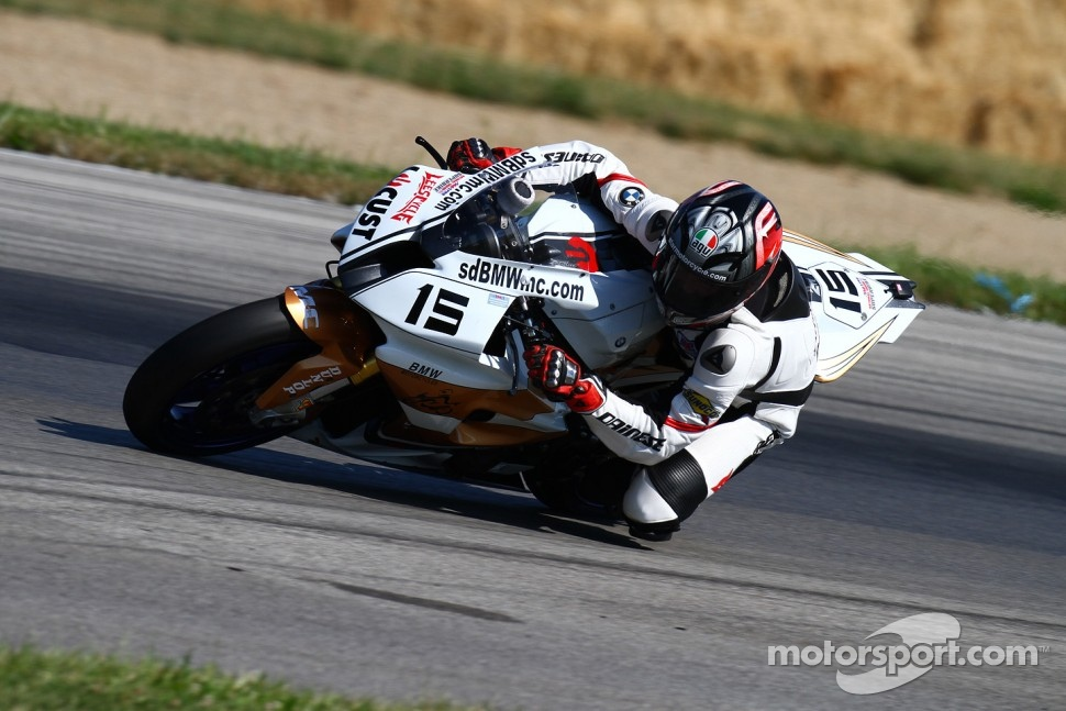 #15 San Diego BMW/Locust Powered by Lee`s Cycle, BMW S1000RR: Steve Rapp
