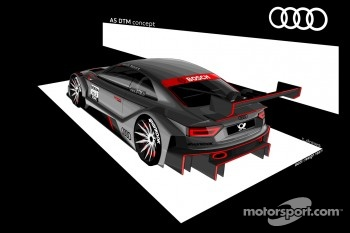 Audi presents the A5 DTM Concept Car drawings
