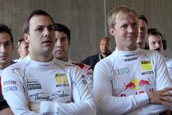 Gary Paffett, Team HWA AMG Mercedes C-Klasse, Mattias Ekström, Audi Sport Team Abt Sportsline Audi A4 DTM