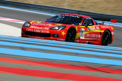 #11 Exim Bank Team China Corvette Z06: Mike Hezemans, Andres Zuber