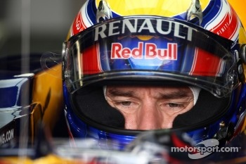 Mark Webber was fastest during Practice 2 for the German GP this afternoon
