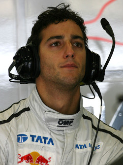 Daniel Ricciardo Hispania Racing Team, HRT