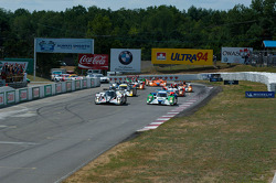 The start of the Grand Prix of Mosport