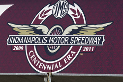 Indianapolis Motor Speedway signage