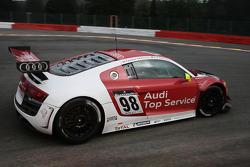 #98 Audi Sport Team Phoenix Audi R8 LMS: Marcel Fässler, Andrea Piccini, Mike Rockenfeller