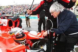 Jerome d'Ambrosio, Virgin Racing and Bernie Ecclestone