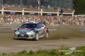 Jari-Matti Latvala and Miikka Anttila, Ford Fiesta RS WRC, BP Ford Abu Dhabi World Rally Team