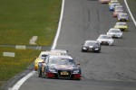Start of the Race, Mattias Ekstrm, Audi Sport Team Abt Audi A4 DTM lead the field