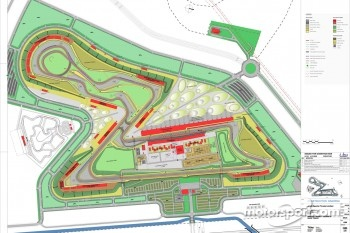 Buddh International Circuit track map