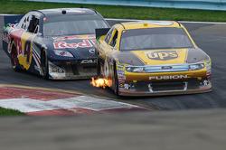 David Ragan, Roush Fenway Racing Ford, Kasey Kahne, Red Bull Racing Team Toyota