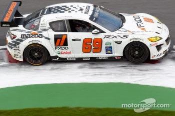 #69 SpeedSource Mazda RX-8: Emil Assentato, Jeff Segal