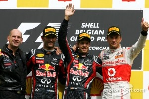 Another victory for Vettel at Spa