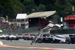 Start: Heikki Kovalainen, Team Lotus