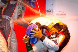 LMPC podium: class winner Tomy Drissi