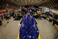 Dreyer & Reinbold Racing paddock