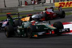 Jules Bianchi leads Sam Bird