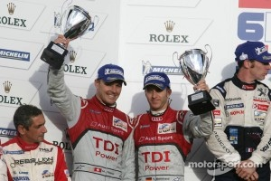 LMP1 podium: second place Timo Bernhard and Marcel Fssler