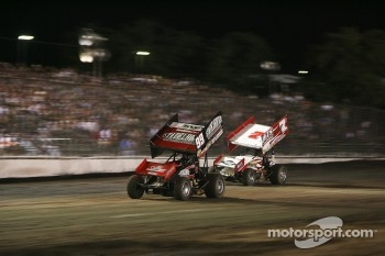 99 Kyle Larson, 7S Jason Sides