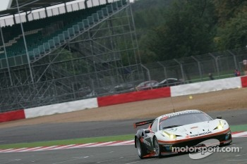 #59 Luxury Racing Ferrari F458 Italia: Stphane Ortelli, Frederic Makowiecki