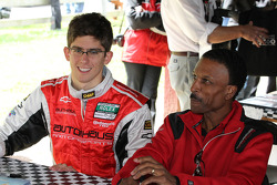 Autograph session: Bill Lester, Jordan Taylor