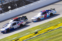 Aric Almirola, Ryan Truex, and Elliott Sadler