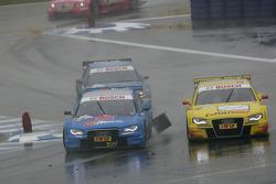 Filipe Albuquerque, Audi Sport Team Rosberg, Audi A4 DTM and Mike Rockenfeller, Audi Sport Team Abt Audi A4 DTM