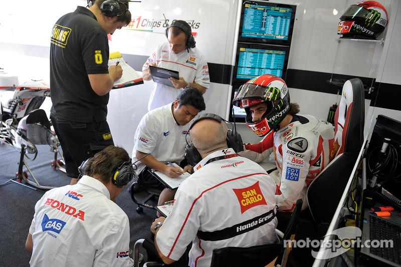 2011: Simoncelli erhält eine Werks-Honda