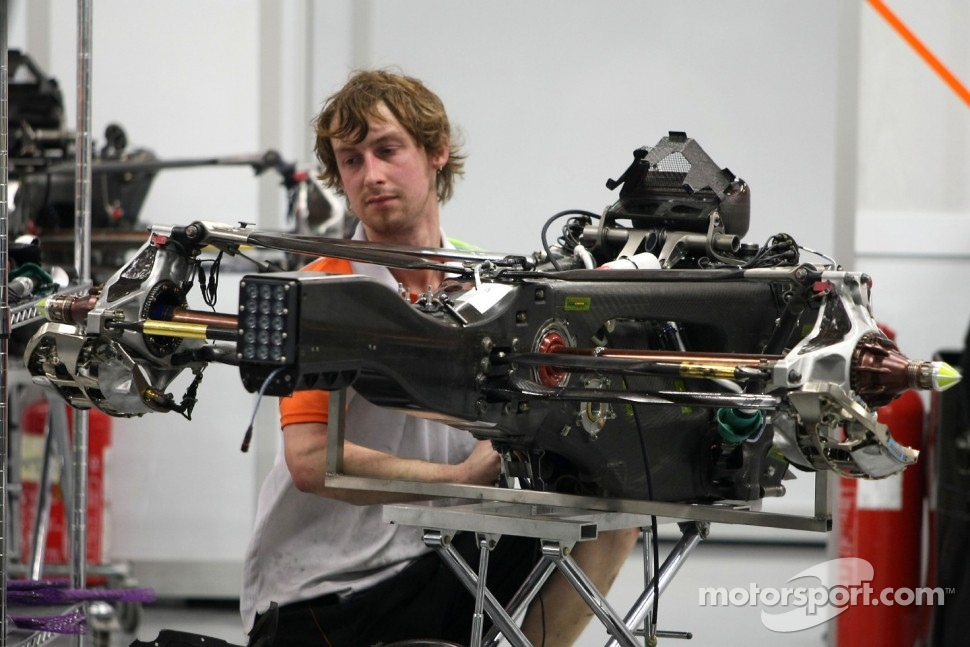 Force India Racing Team mechanic