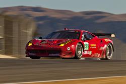 #62 Ferrari F458 Italia: Jaime Melo, Toni Vilander
