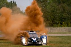 #8 Peugeot Sport Total Peugeot 908: Franck Montagny, Stéphane Sarrazin, Alexander Wurz goes off-track