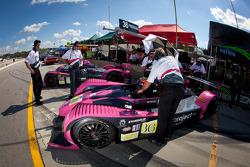 #36 Genoa Racing Oreca FLM09: Jordan Grogor, Aldous Mitchell, Bassam Kronfi