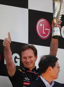Podium: Christian Horner, Red Bull Racing, Sporting Director