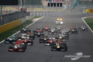 2012 Korean Grand Prix start