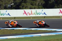 Dani Pedrosa and Andrea Dovizioso