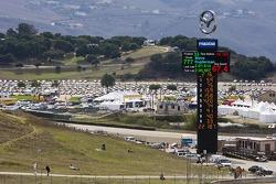 View during the Porsche Rennsport Reunion IV at Mazda Raceway Laguna Seca