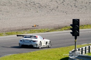 #3 Graff Racing Mercedes-Benz SLS AMG GT3: Gregoire Demoustier/Mike Parisy