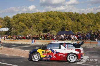 Sébastien Ogier and Julien Ingrassia and Citroën DS3 WRC, Citroën Total World Rally Team