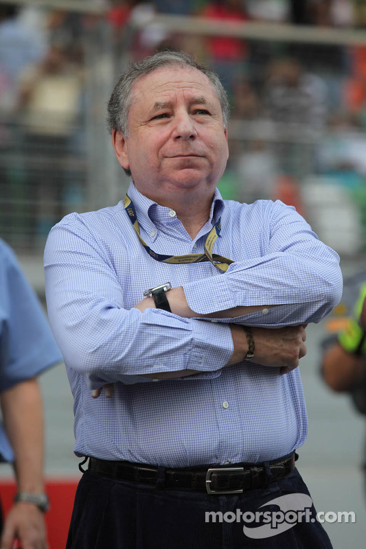 Jean Todt, FIA president at Indian GP