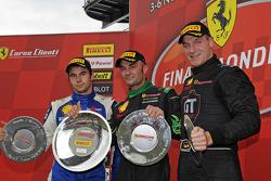 Trofeo Pirelli Ferrari Europa Challenge race 2 podium