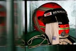 helmet of Jarno Trulli, Team Lotus