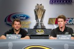 Championship contenders press conference: NASCAR Spint Cup Series contenders Tony Stewart and Carl Edwards