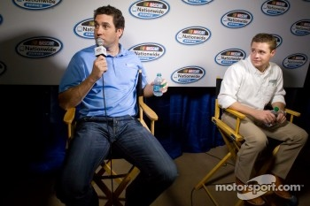 Championship contenders press conference: Elliott Sadler and Ricky Stenhouse Jr.
