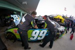Roush Fenway Racing team members at work