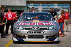 Car of Brian Vickers, Red Bull Racing Team Toyota